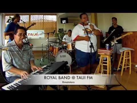 "LIVE DU ROYAL BAND @ TAUI FM ""RIMATATARA/IA TOPA TE HANA/TU M'AVAIS DIS UN jOUR"""