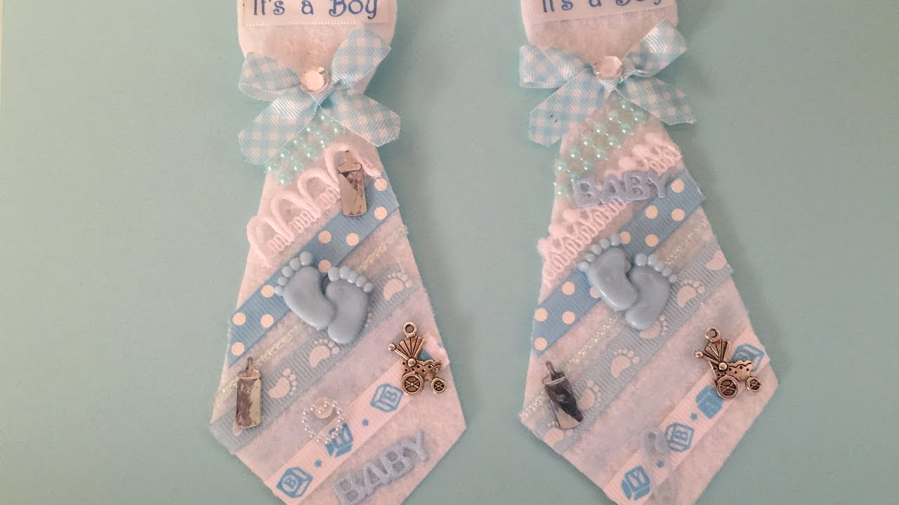 Baby Shower Father to Be Felt Tie YouTube