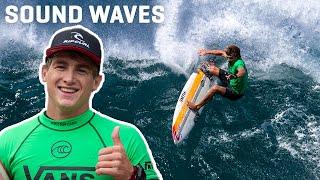 Matthew McGillivray Battles for CT Qualification, Vans World Cup of Surfing   Sound Waves