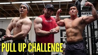 MAX PULL UP CHALLENGE vs Bart Kwan & Silent Mike