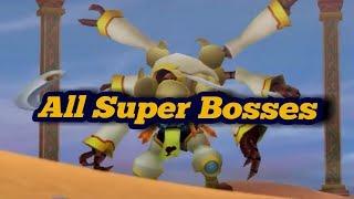 All Kingdom Hearts Series - Super Bosses [Read the Description]