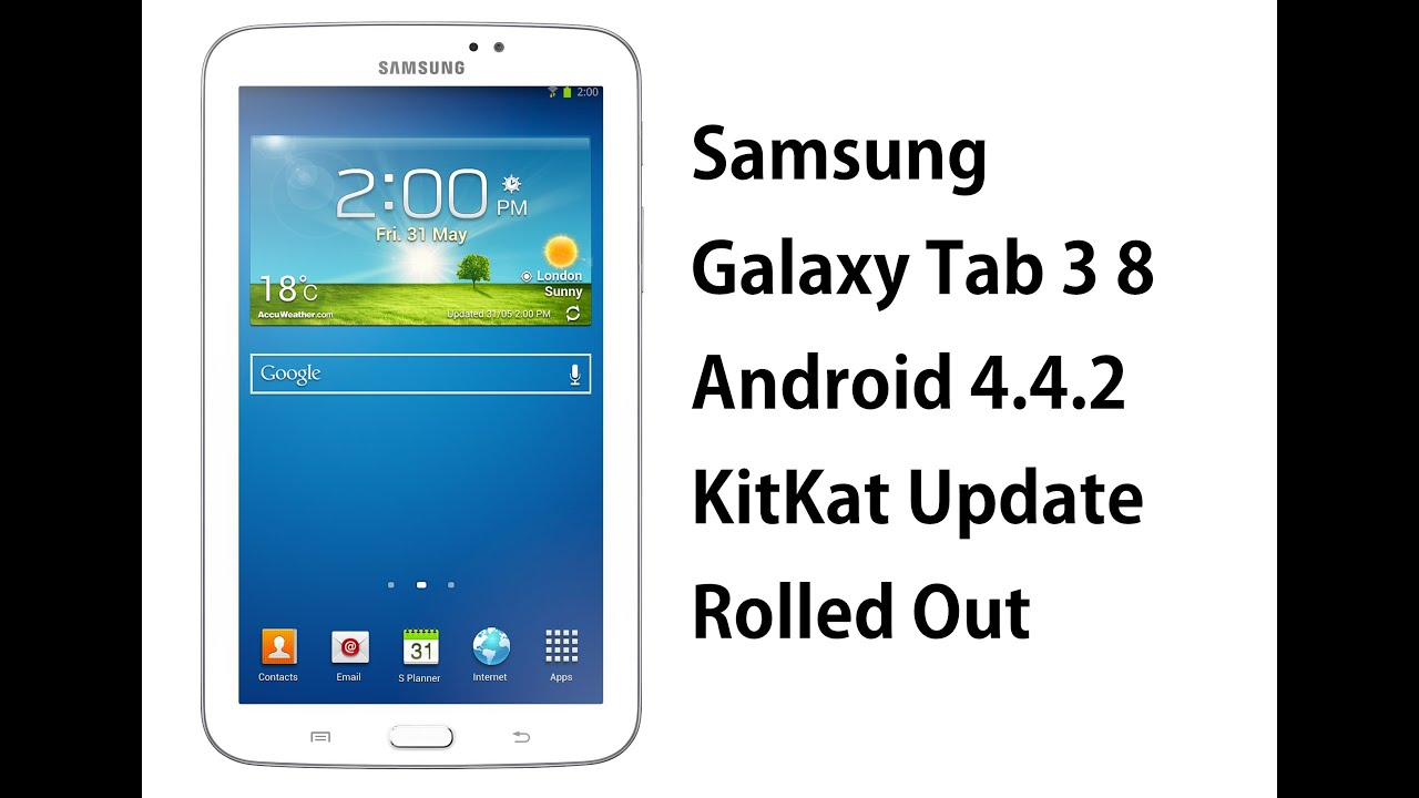 Samsung Galaxy Tab 3 8 Android 4 4 2 Kitkat Update Rolled Out