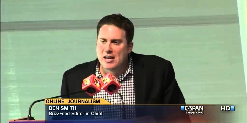 BuzzFeed's Ben Smith Says He Only Hires Great Reporters