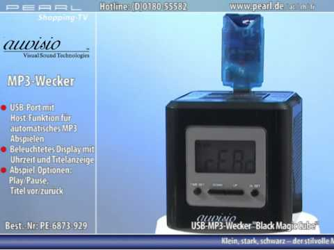 auvisio USB-MP3-Wecker
