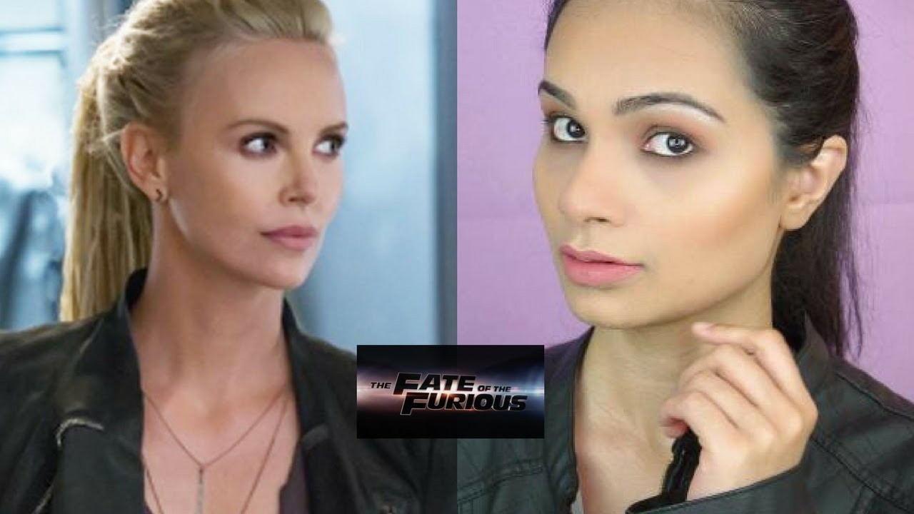 Charlize Theron The Fate Of The Furious 8 Easy Inspired Makeup