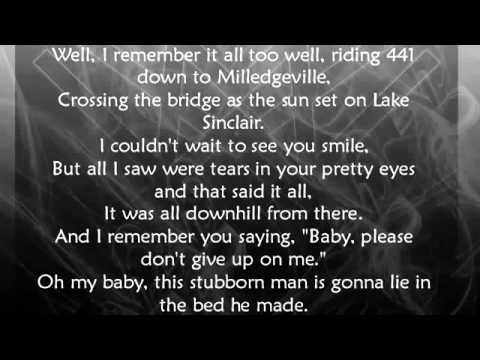 Brantley Gilbert  Best Of Me With Lyrics