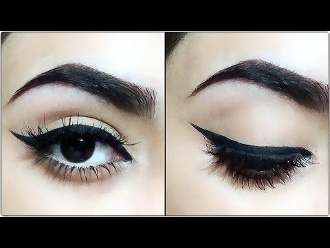 How To:Perfect Winged EyeLiner(5 Methods)
