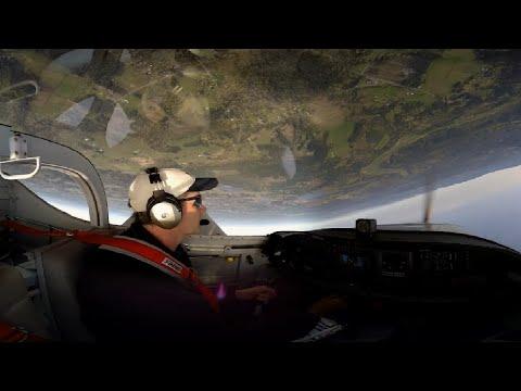 360 / 4K Video - Formation and Aerobatic Flying in Vans RV-7 / RV-9