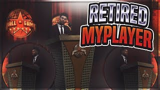 NBA 2K18 - What happens when you retire your MyPlayer from mycareer? you wont believe what happened!