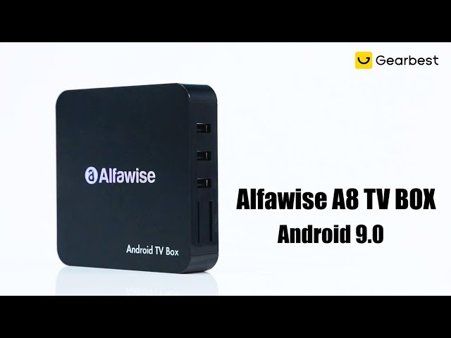 Alfawise A8 TV BOX Android 9 0 Rockchip 3229 1GB RAM + 8GB ROM