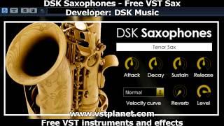 Free VST - DSK Saxophones Instrument - vstplanet.com