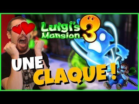 LUIGI'S MANSION 3 👻 : J'ai joué au jeu, MON AVIS !
