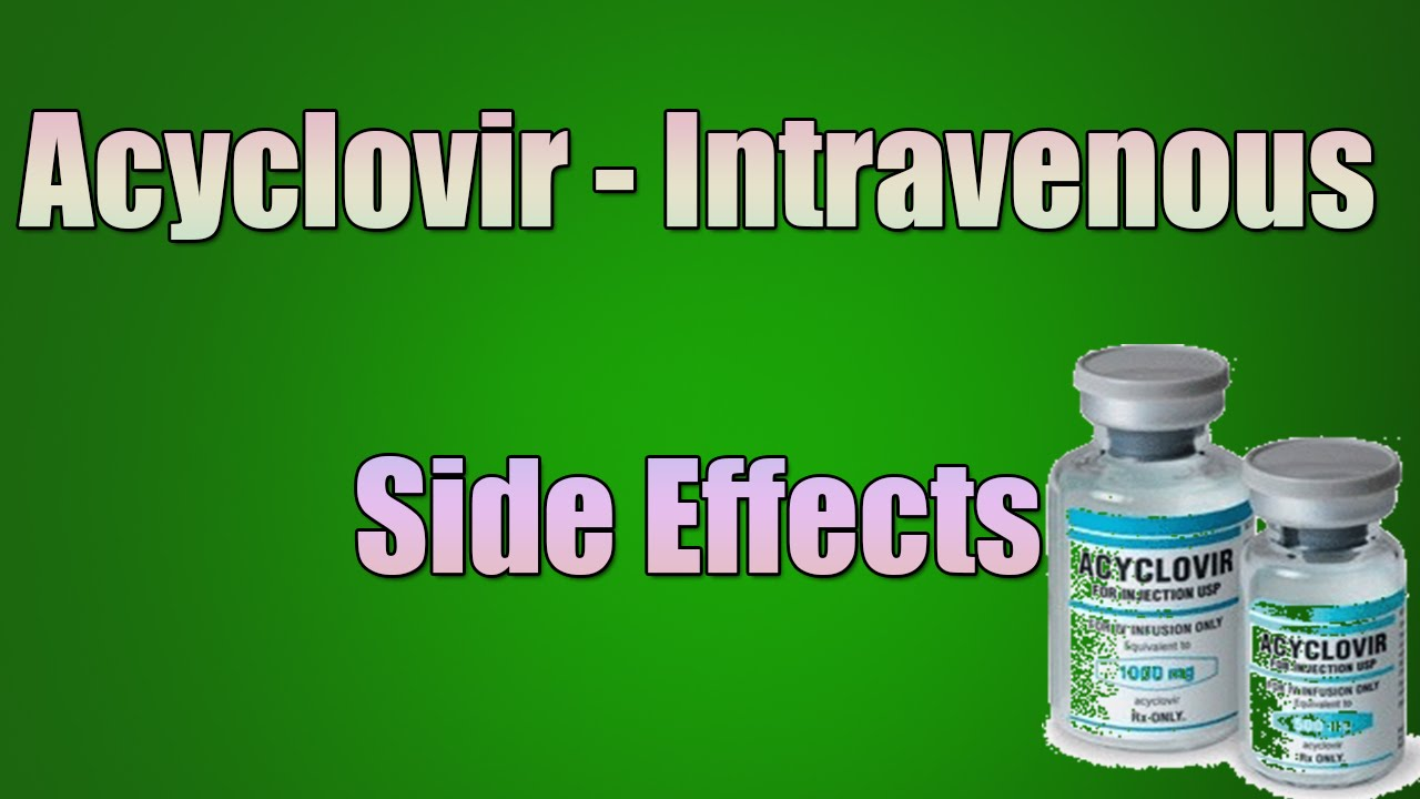 Acetazolamide Iv Side Effects