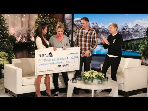 Kim Kardashian And Ellen Meet California Firefighter Who Lost Home
