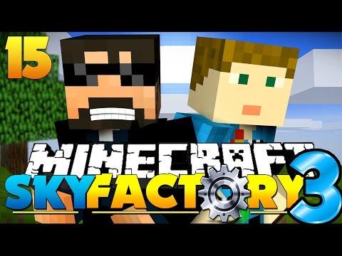 Minecraft: SkyFactory 3 - WORSHIP US!! [15]