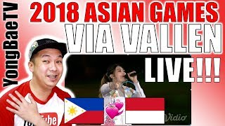 Download Video VIA VALLEN Meraih Bintang OPENING ASIAN GAMES 2018 | Reaction & Review | YongBaeTV MP3 3GP MP4