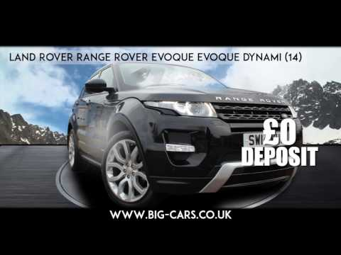 Available for just £0 DEPOSIT £455 PER MONTH - 2014 Range Rover Evoque