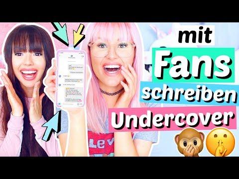UNDERCOVER mit Fans auf INSTAGRAM schreiben 🙊 Fake Accounts | ViktoriaSarina streaming vf