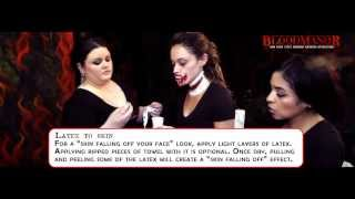 Halloween Makeup How to featuring Miss New York USA, Joanne Nosuchinsky- Presented by Blood Manor