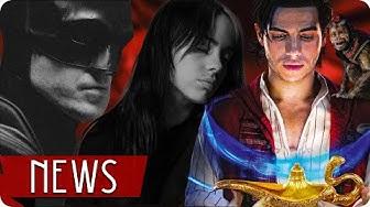 erster Eindruck zu THE BATMAN , ALADDIN 2 & der neue BOND Song - FILM NEWS