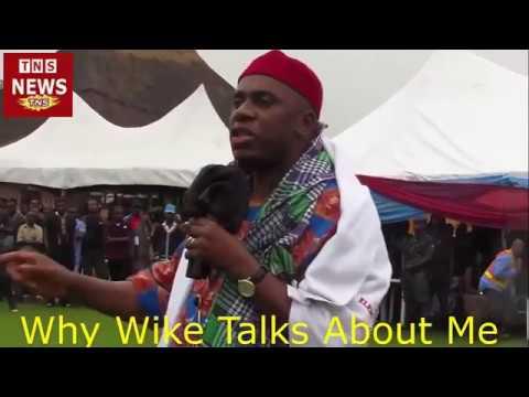 Rotimi Amaechi - Why Wike Talks About Me