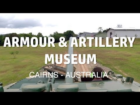 Tanks at Australian Armour & Artillery Museum - Cairns