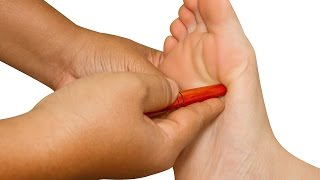Foot Massage - How to Massage - Therapy for Beginners - Relaxing Pain Relief for Feet
