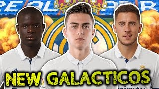 Real madrid to spend €200 million on new galácticos?! | transfer talk