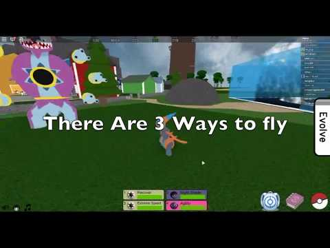 Roblox PFE how to fly