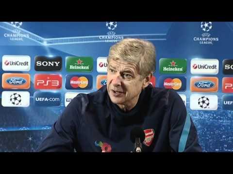 PERFECT VAN PERSIE: Arsene Wenger praises Arsenal captain