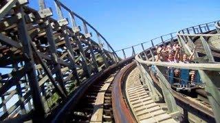 Download Video Stampida left track front seat on-ride HD POV PortAventura Park MP3 3GP MP4