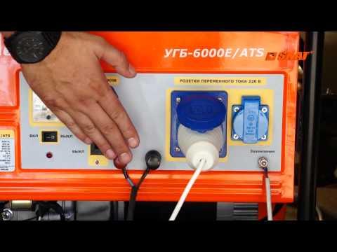 Бензиновые генераторы Скат с АВР (автоматический запуск резерва)