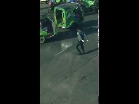 Dancing Traffic Enforcer in Tagum City