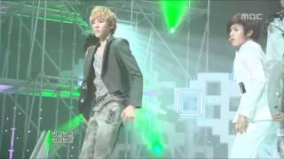 U-Kiss - Bingeul Bingeul, 유키스 - 빙글빙글, Music Core 20100320