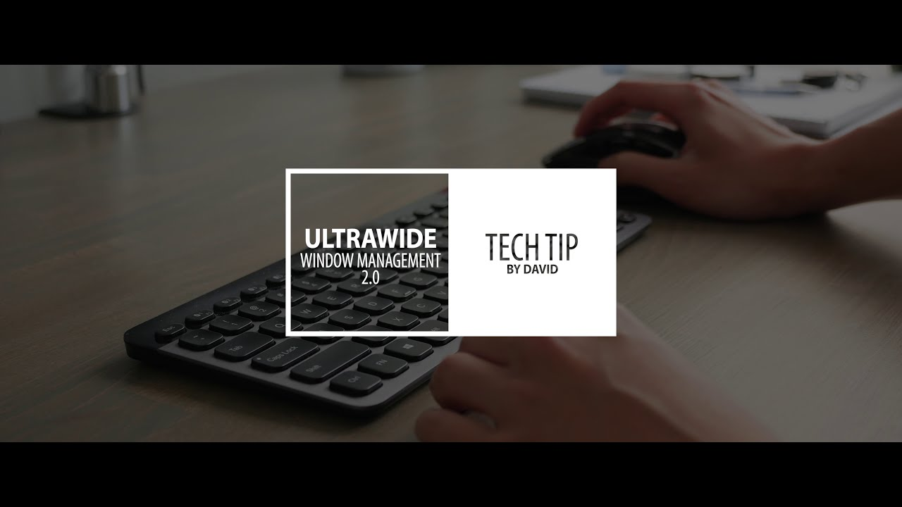 Ultrawide Monitor Tips 2 0! Improved Windows Management With Displayfusion   David Zhang 02:51 HD