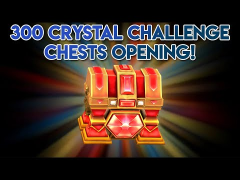 Dungeon Hunter 5: Opening 300 Crystal Challenge Chests With 1.5 Million Crystal Shards