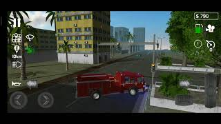 simulation | kids games | cartoon | toys | driving |Fire Engine Simulator