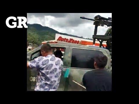 Agreden a militares en Michoacán