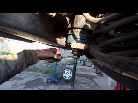 Замена подушек заднего подрамника МЕРСЕДЕС W210