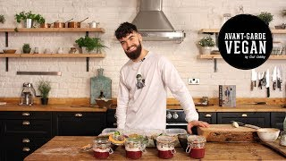 One of avantgardevegan's most viewed videos: BUDGET VEGAN MEAL PREP | 16 MEALS @avantgardevegan by Gaz Oakley
