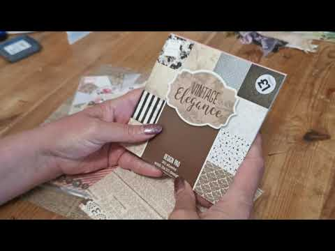 Fab Hobby craft haul and mini file file folder booklet