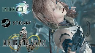 Mobius Final Fantasy - Steam PC - Lightning Resurrection FFXIII Event Returns 60FPS HD