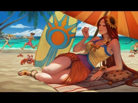 Pool Party Leona Skin Review  YouTube