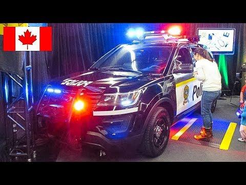 SPECIAL   Walkaround of BRAND-NEW 2017 Sûreté du Québec Patrol Vehicles at Montréal Intl Auto Show