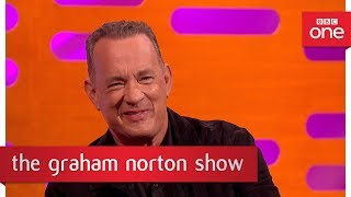 Tom Hanks' approach to playing real people - The Graham Norton Show - BBC One
