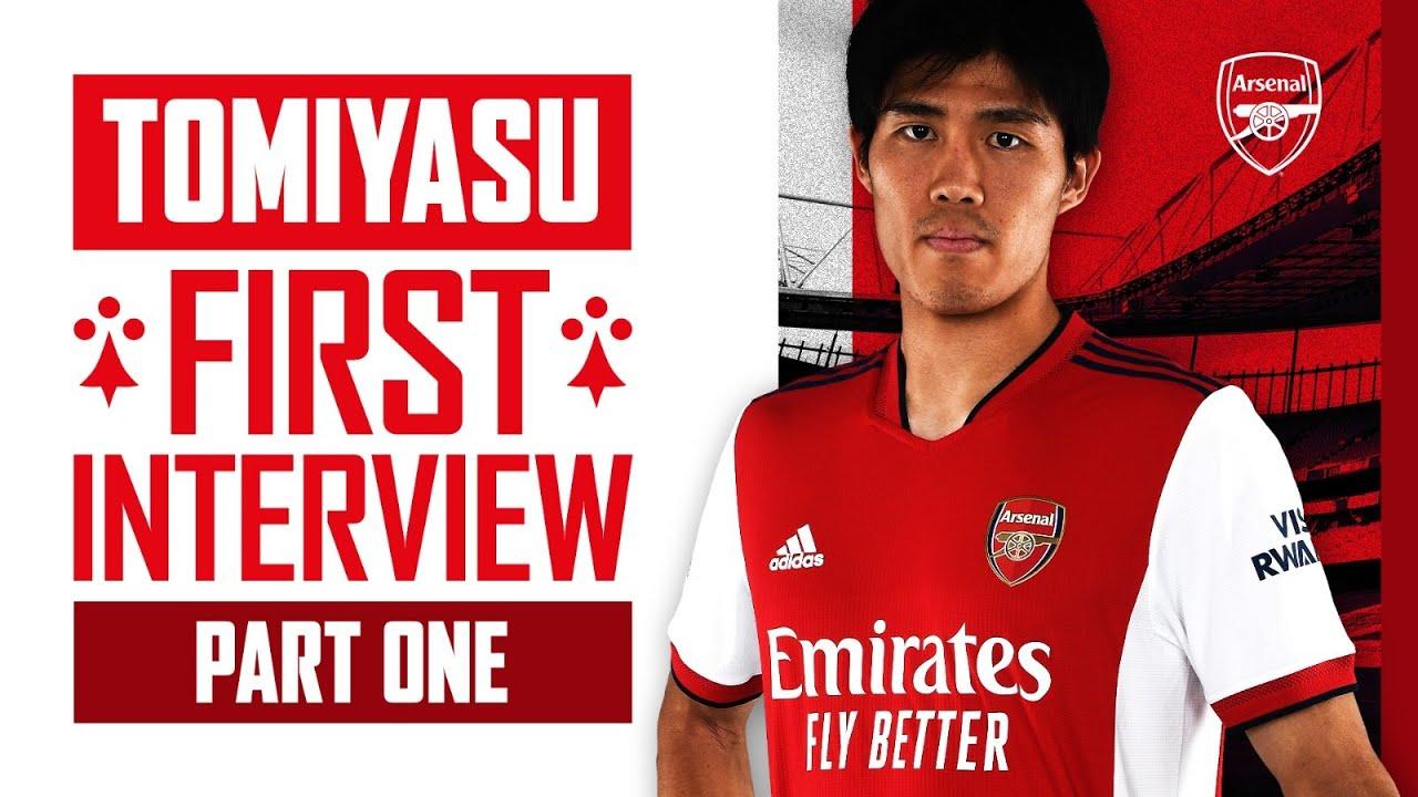 Takehiro Tomiyasu's first interview   Welcome to The Arsenal   Part One