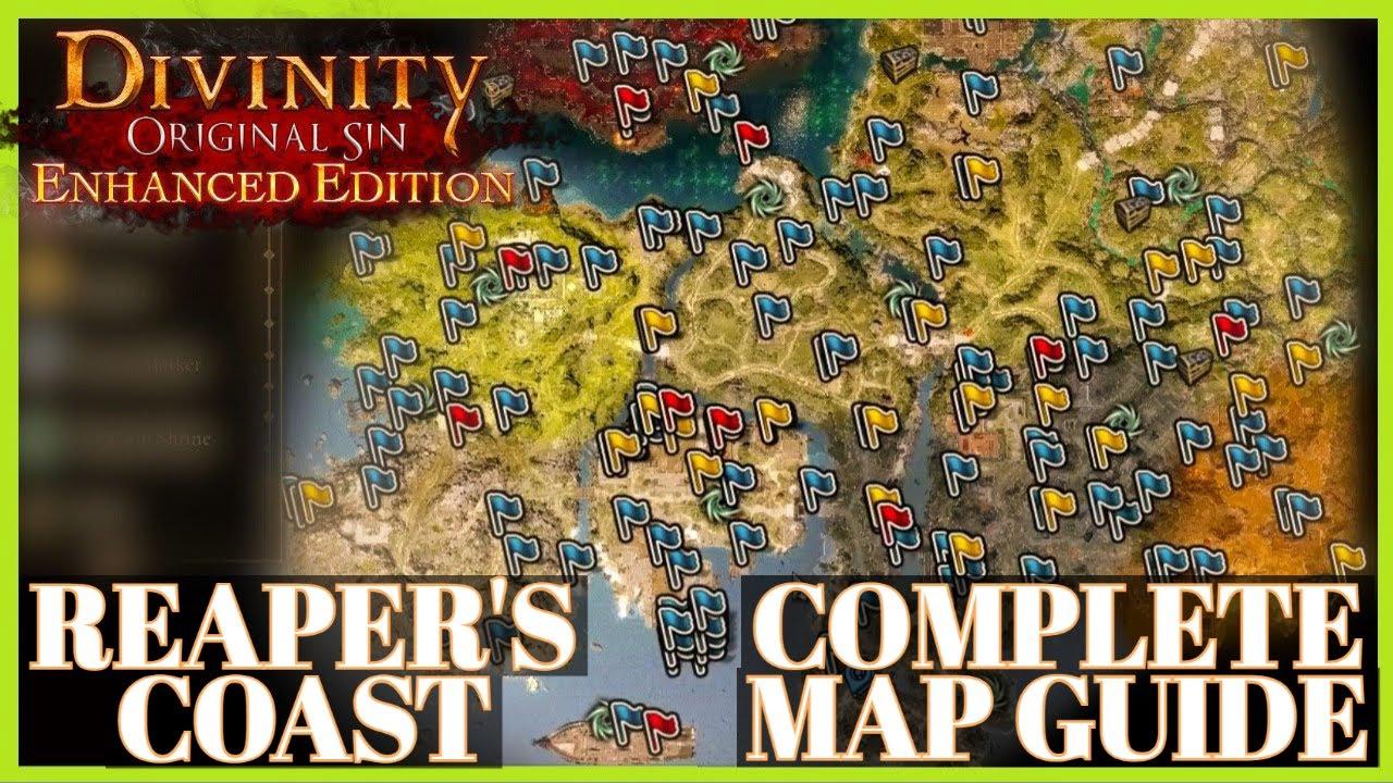 Divinity Original Sin 2 Reaper S Coast Complete Guide Second Map
