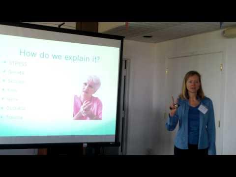 Marina Rose speaks on alternative health strategies,1/3