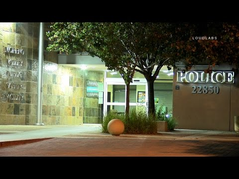 Unknown Substance Sends Deputy To Hospital As Precaution / Moreno Valley   RAW FOOTAGE