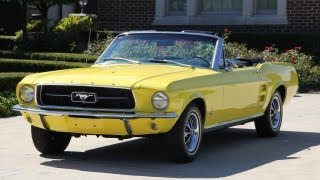 1967 Ford Mustang Convertible Classic Muscle Car for Sale in MI Vanguard Motor Sales